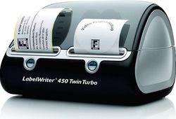 מדפסת מדבקות עם הזנה כפולה- DYMO LabelWriter 450 TWIN TURBO