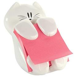 מעמד למדבקות תזכורת חתול לבן POSTIT Cat-330
