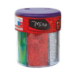 אבקת חול צבעים מטלי 6 צבעים 50 גרם