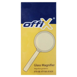 זכוכית מגדלת 60 מ'מ OFFIX