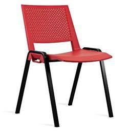 כסא אורח קנטרה פלסטיק למשרד