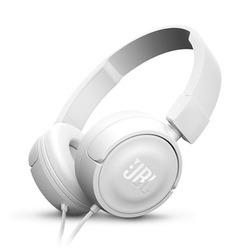 אוזניות חוטיות JBL T450 לבן