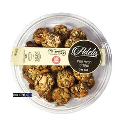 עוגיות חטיפי קשיו ושקדים 180 גרם Adelis