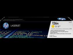 טונר לייזר HP CE312A צהוב 1000 דף (126A)