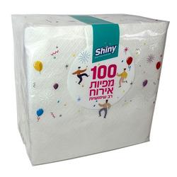 מפיות נייר 100 יח' Shiny