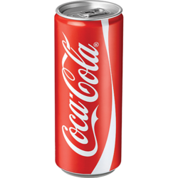 פחיות קוקה קולה 330 מ'ל