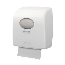 מתקן למגבת ידיים ממותגת בגליל Aquarius Slimroll לבן