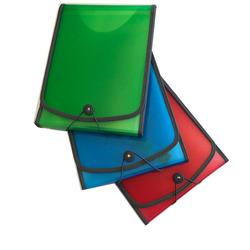 תיק הרמוניקה פלסטיק אנכי 1-12 A4 ENPUX