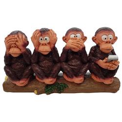 פסל 4 קופים