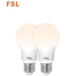נורת לד A6013.5W לבן אור חם E27 זוג במארז FSL
