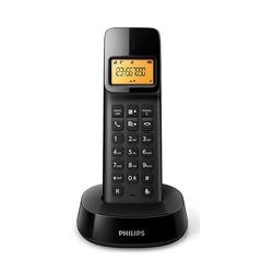 טלפון אלחוטי Philips D1401B שחור