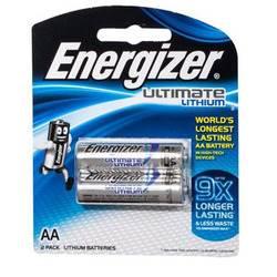 סוללת אנרגיזר AA 1.5V אצבע זוג LITHIUM