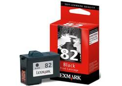 ראש דיו לקסמרק 18L0032E שחור (82)