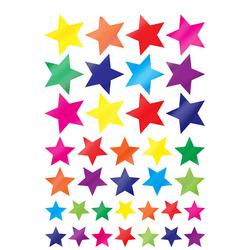 מדבקות כוכבים בגדלים שונים נוצץ NCR308