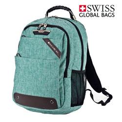 תיק גב סטטיק ירוק SWISS