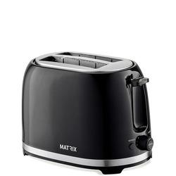 טוסטר מצנם ל- 2 יח' MX-T2002-BK MATRIX ניו יורק שחור