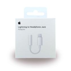 מתאם אוזניות מקורי APPLE Lightning to 3.5mm