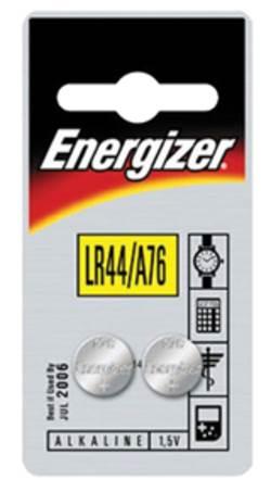 סוללת אנרגיזר 76A כפתור זוג LR44