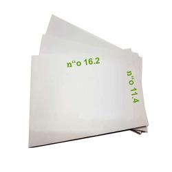מעטפות תקן לבנה 114/162 מרובע