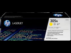 טונר לייזר HP CE412A צהוב 2600 דף (305A)