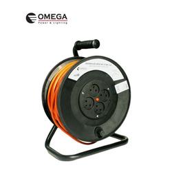 תוף כבל מאריך חשמל 50 מ' OMEGA
